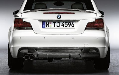 BMW Sporting Diffuser in carbon