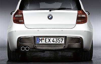 BMW aerodynamic kit Diffuser in carbon