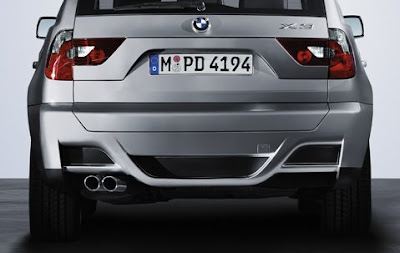 BMW X3 Aerodynamic kit
