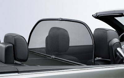 BMW Wind deflector