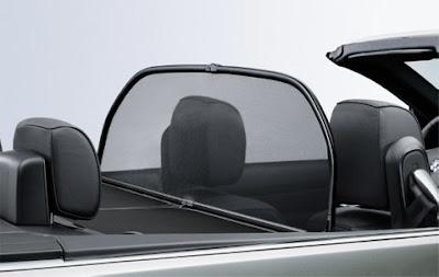 BMW Wind deflector