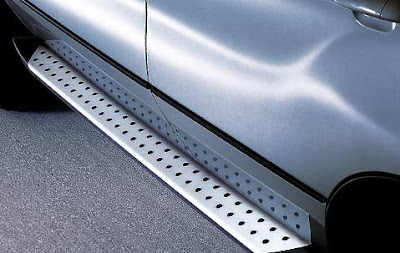 Aluminium running boards BMW X5