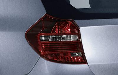Dark line rear lights BMW 1 Series