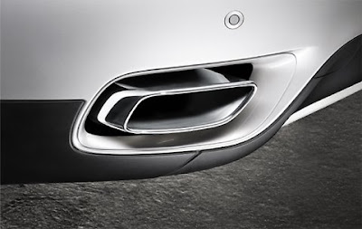 Exhaust pipe finishers in chrome BMW X6