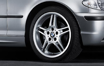 BMW 3 Double spoke 125 – wheel, tyre set