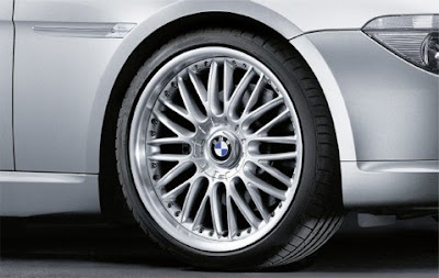 BMW 6 M cross spoke composite wheel 101