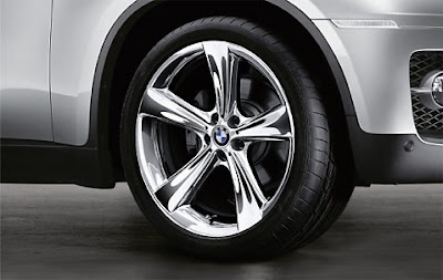 BMW X6 Star spoke 128 in chrome