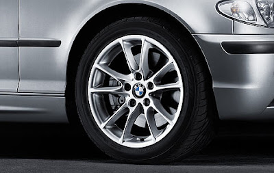 BMW 3 Radial spoke 50 – wheel, tyre set