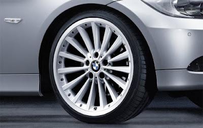 BMW Radial spoke composite wheel 198