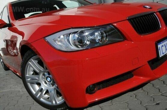 used 2008 BMW 320i red
