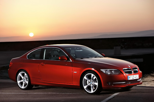 BMW 335i Red Metallic