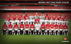 08/09 Arsenal First Team