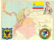EL MAPA DE COLOMBIA EN 1810. Publicado por gabriela en 14:58 (mapa colombia )