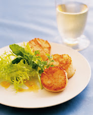 GRILLED SCALLOPS WITH LEMON BEURRE BLANC