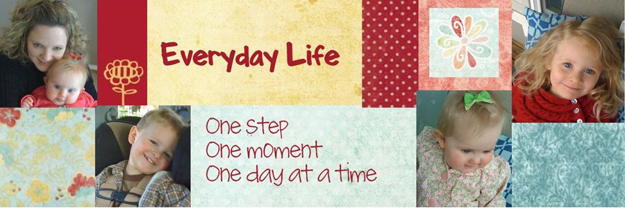 Everyday Life: One Step One Moment One Day At  A Time