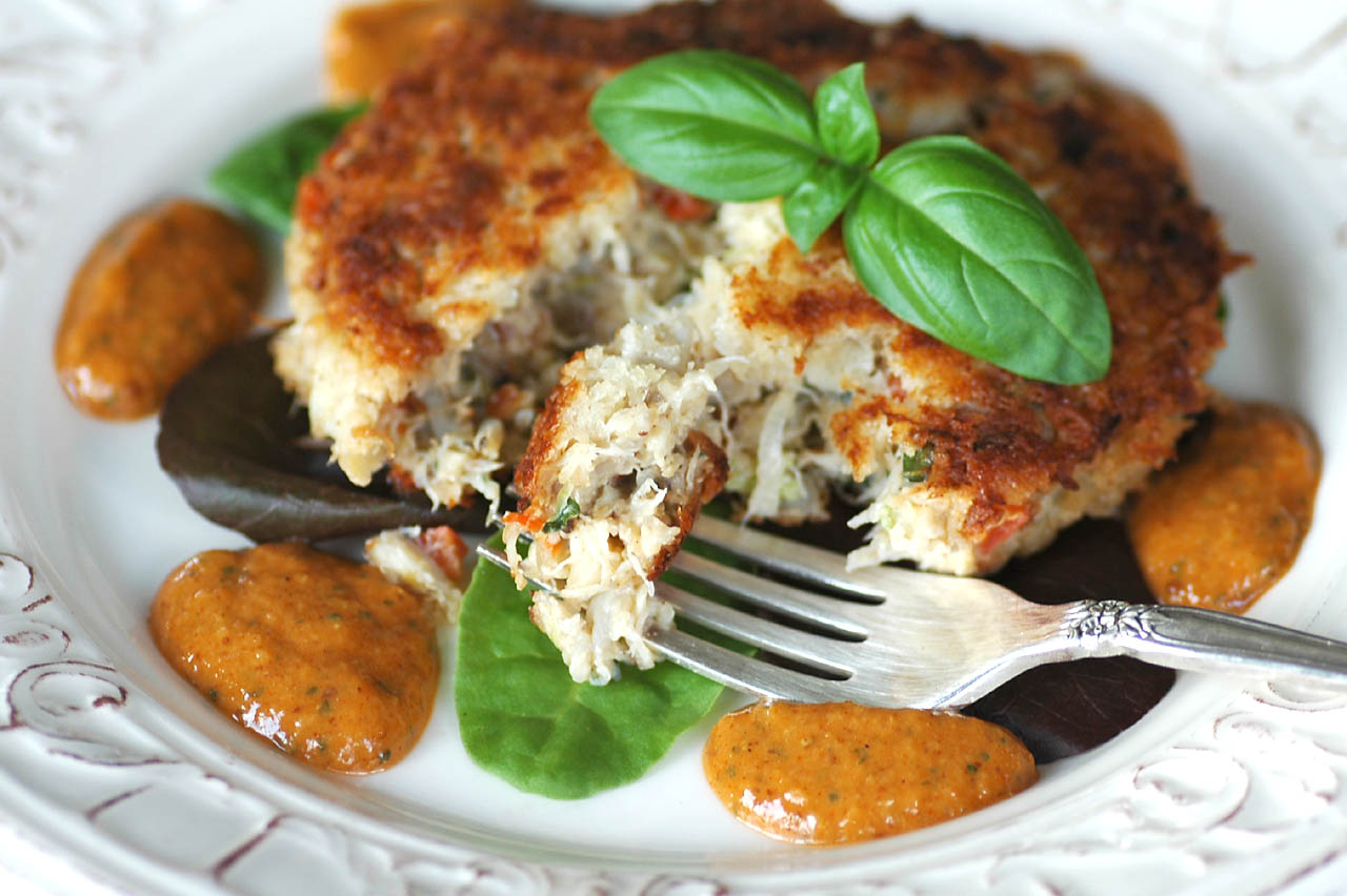 like to serve them with a tangy remoulade sauce which is also made ...