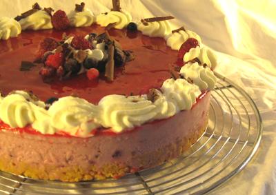 Sans titre 4 Cheese cake aux fruits rouges
