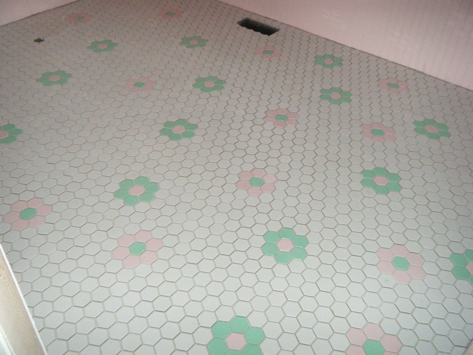 Makin 39 Projiks Hexagon Flower Tile Floor