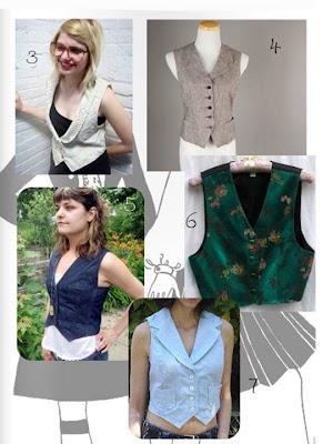 vintage vests, vintage fashion, wearing vintage @pintuckstyle, Viva La Moda