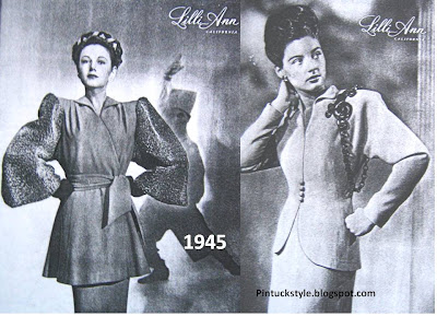 1940 Fashion Photos on Lilli Ann Suits  The Late 1940 S  Vintage Suits With Fashion Flare