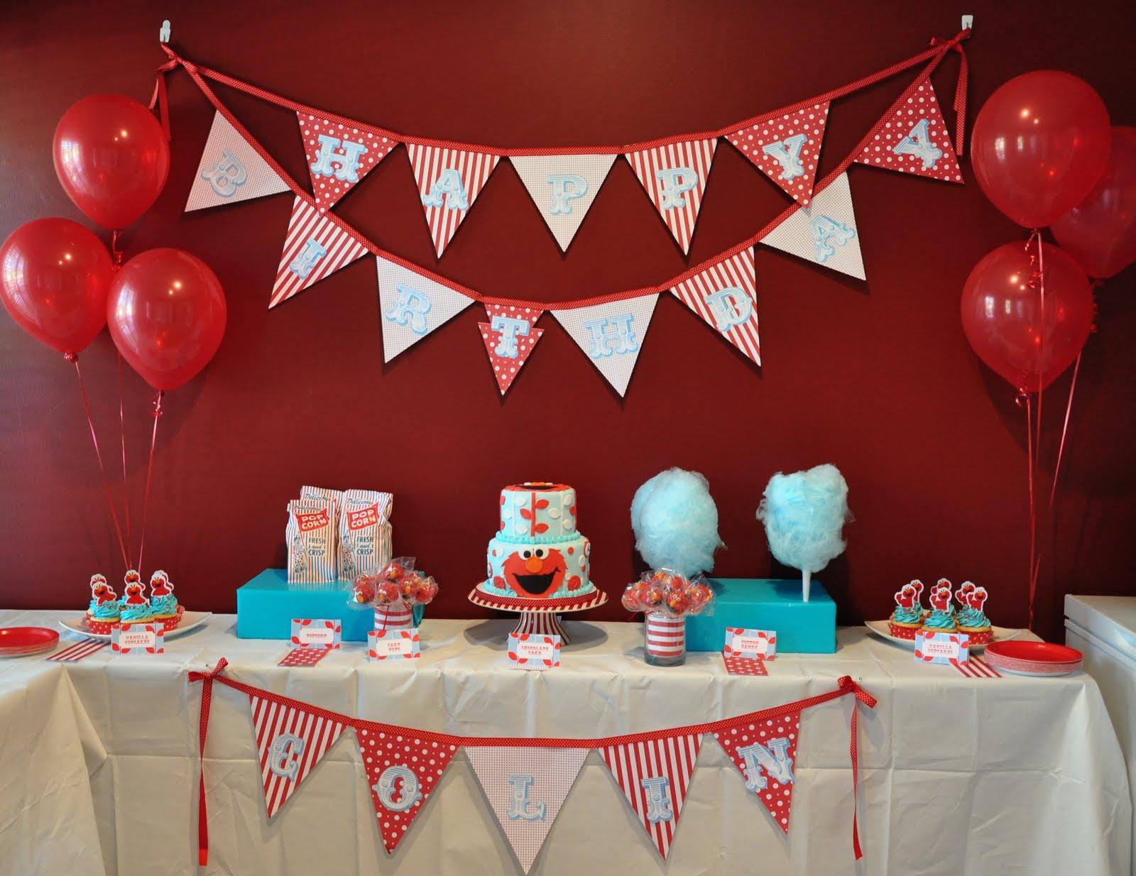 Elmo birthday party decorations ideas memes