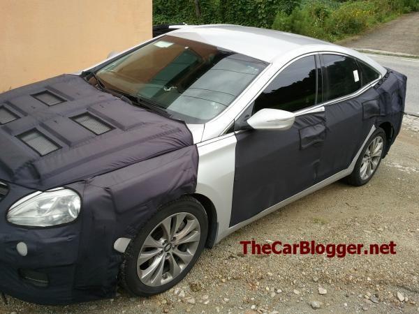 2012 - [Hyundai] Azera/Grandeur Hg-spy-1