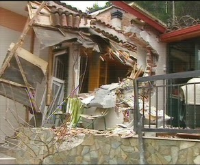 Αποτέλεσμα εικόνας για Βράχος απειλεί την Βελιτσα στην Τιθορέα