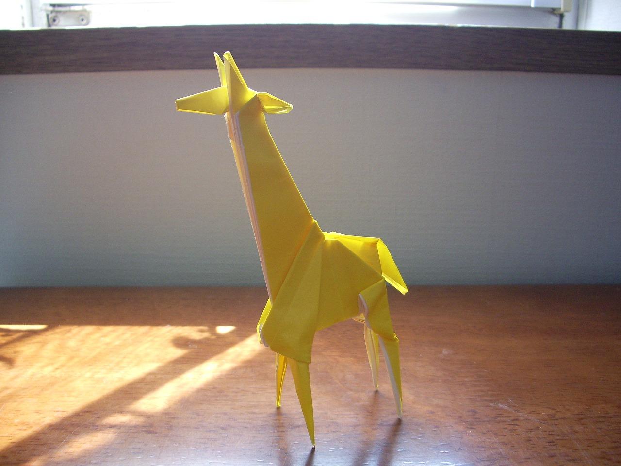 Origami Giraffe Instructions - photo#14