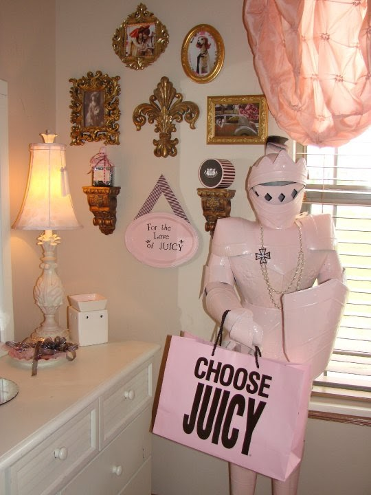 fabulous and fru fru juicy couture inspired room