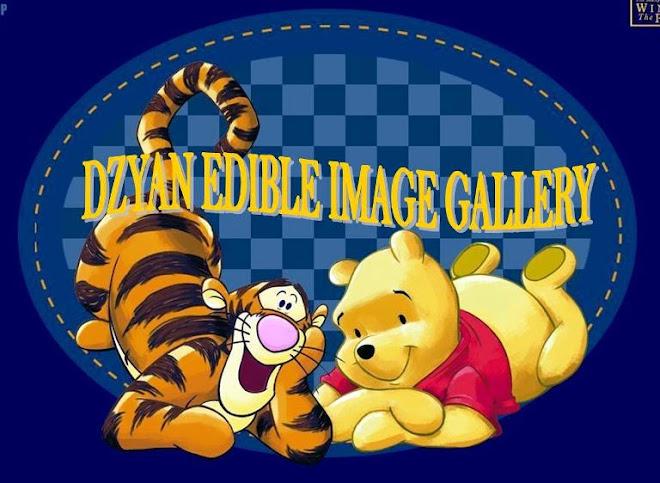 DZYAN EDIBLE IMAGE GALLERY