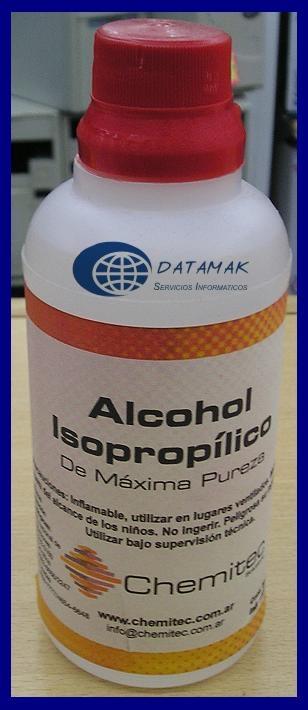 Guia mantenimiento preventivo alcohol isopropilico - Alcohol de limpieza ...