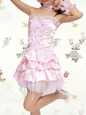 Como evitar ser una Ita.   Pink-Strapless-Ruffles-Cotton-Lolita-Dress-25068-1