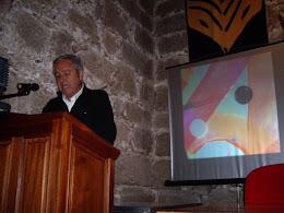 El autor de esta página en el II Encuentro de Poetica en Gredos