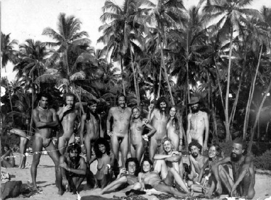 People knew how to have fun back then. Sex, drugs and swimming naked in the ...