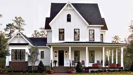 A house and home i 39 m worried i 39 m always in love for American farmhouse style