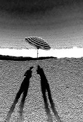 ombre sulla riva