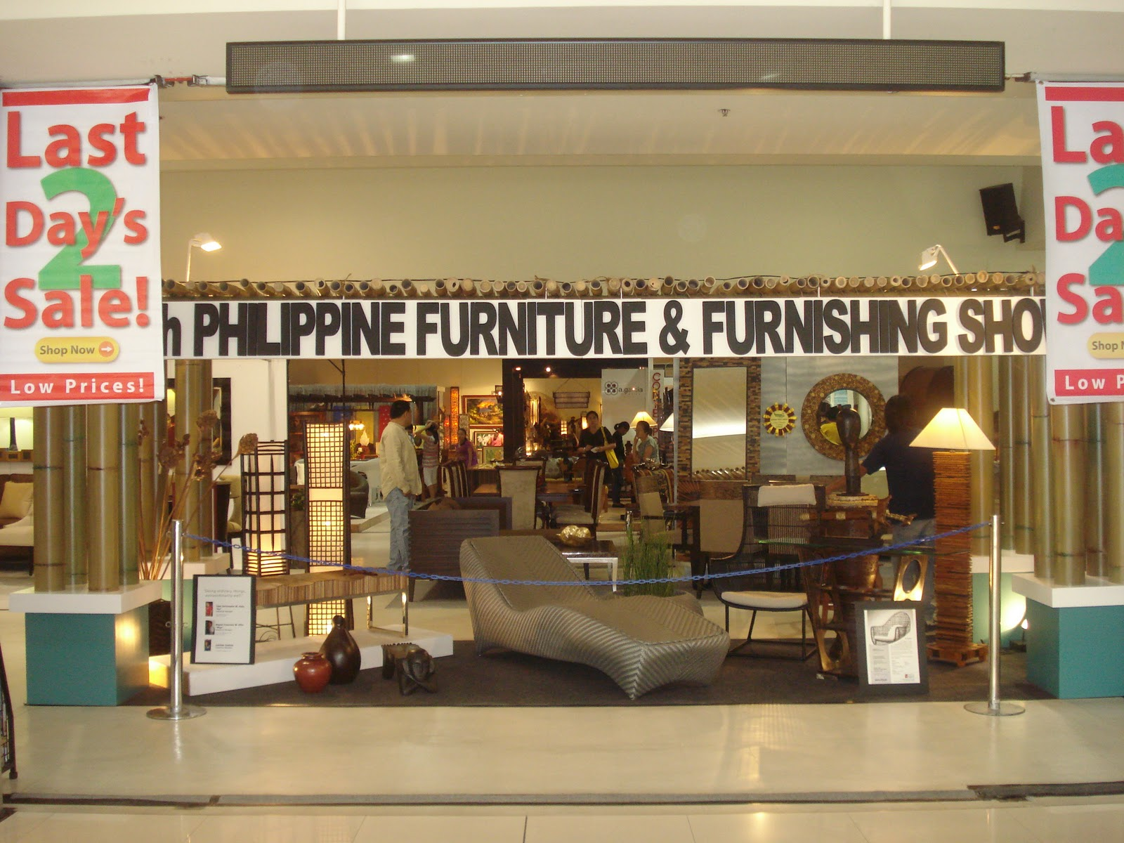 Two Storeys 36th Philippine Furniture And Furnishings Show