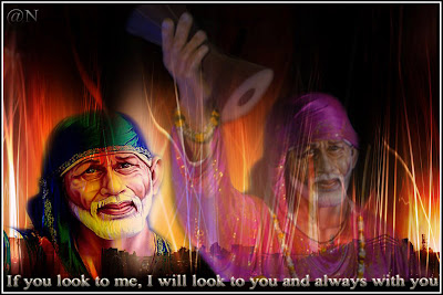Shirdi Sai Christmas Wallpaper 6