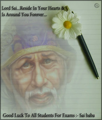 Shirdi Sai Baba Good Luck Wishes for Students