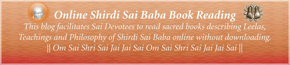 Online Shirdi Sai Baba Book Reading