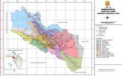 Peta Kabupaten Dairi