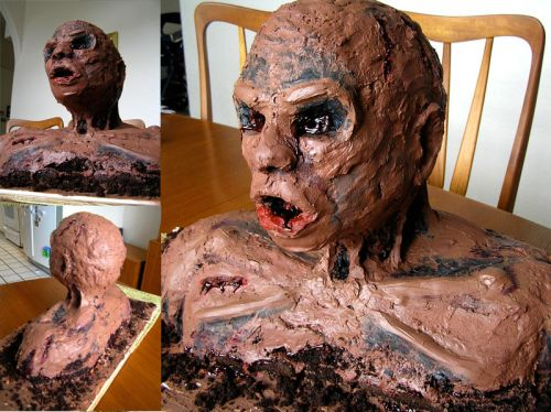 More Cool Pictures Creepy And Cool Halloween Cakes