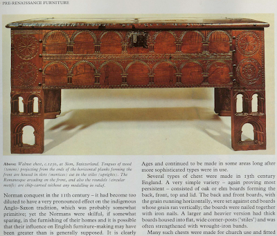 Early Warning: Progress in Furniture from Ancient Egypt