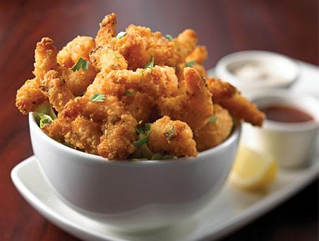 Slice of Earthly Delight: Pop, Pop, Pop...Popcorn Shrimp