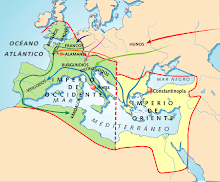 Imperio Romano de Oriente y Occidente