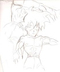 Gohan y Goku