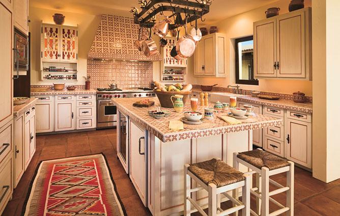 The french hen kitchens for Loseta para cocina