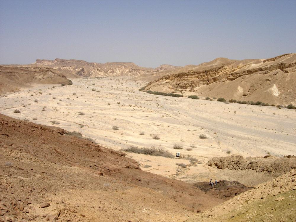 désert D'Israel dans image belle NachalParan1