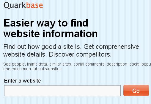 Website+Information,+Analysis+&+Research+Tool+ +Quarkbase 1286264576152 ওয়েব সাইটের জনপ্রিয়তা মাপার কিছু প্রয়োজনীয় ওয়েব টুলস! | Techtunes