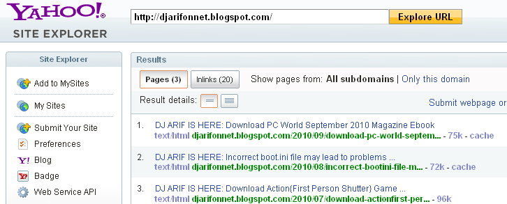 Site+Explorer+ +Search+Results 1286264516189 ওয়েব সাইটের জনপ্রিয়তা মাপার কিছু প্রয়োজনীয় ওয়েব টুলস! | Techtunes